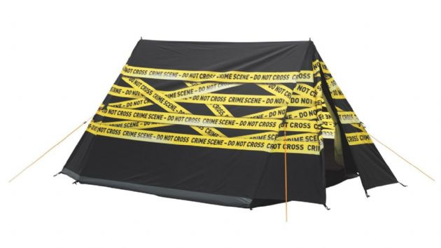 Easy Camp IMAGE CRIME SCENE Camping Tent, Camping Hiking Backpacking Tent- Grasshopper Leisure